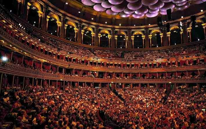 BBC Proms 2015 in der Royal Albert Hall in London