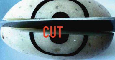Auszug aus dem Flyer zur Ausstellung CUT von ArtEvent
