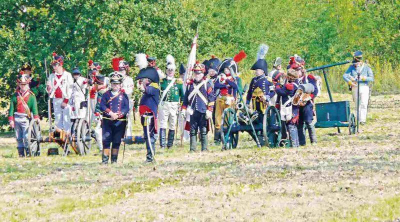 Historische Vereine beim Siegesfest Großbeeren 2015
