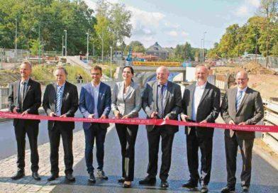 Eisenbahnüberführung in Dahlewitz freigegeben