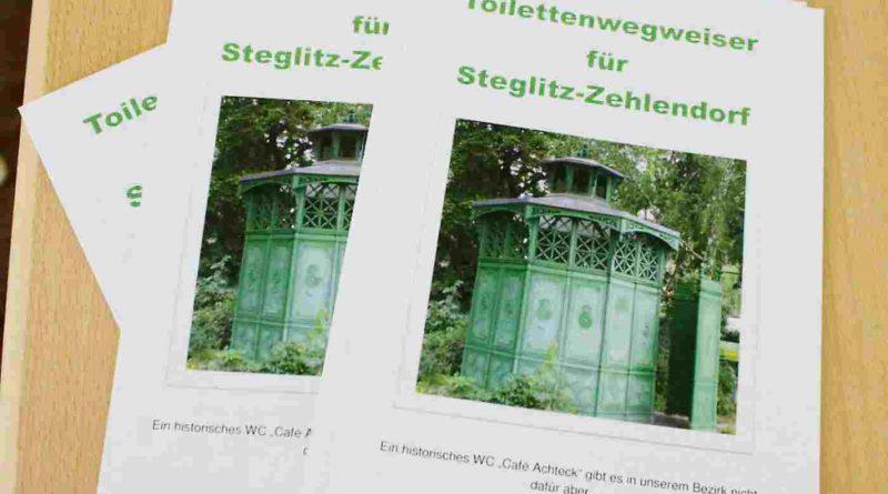 """Kurze Wege zum """"stillen Örtchen"""" – Toilettenwegweiser für Steglitz-Zehlendorf"""