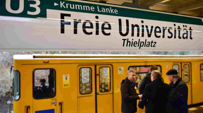 """U-Bahnhof """"Freie Universität"""""""