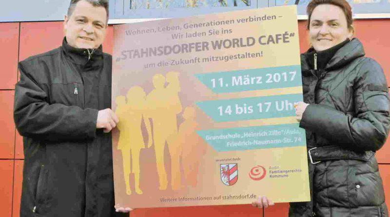 Mit dem Stahnsdorfer World Café zur familiengerechten Kommune