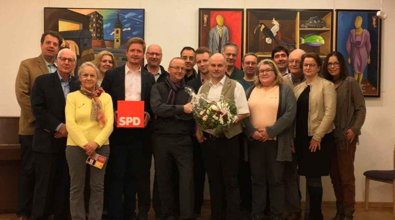 Thomas Schmidt Bürgermeisterkandidaten der SPD