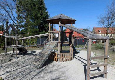 Neue Geräte für Spielplatz in der Vogelsiedlung