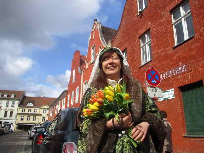 jahre tulpenfest  potsdam stadt blatt verlag