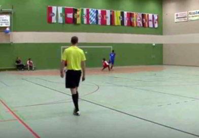 Video: Fußball-EM an der Oberschule in Dahlewitz