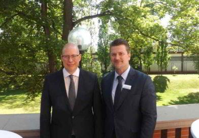 Manager-Delegation aus Usbekistan im Brandenburger Landwirtschaftsministerium