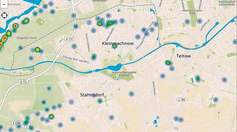 Mit dem Funklochmelder Brandenburg hat die CDU-Fraktion eine Website geschaltet, auf der man Löcher im Mobilfunknetz melden kann und diese dann auf einer Karte visualisiert werden.
