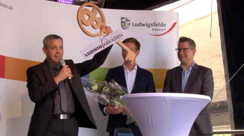 Video: Ludwig-Arkaden feierlich eröffnet