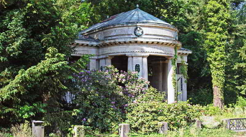 Mausoleum auf dem Südwestfriedhof Stahnsdorf