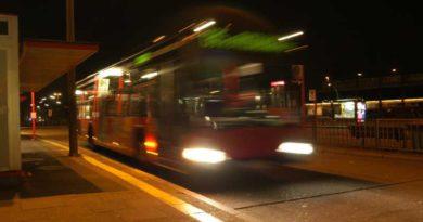 Selbstfahrende Busse in Teltow