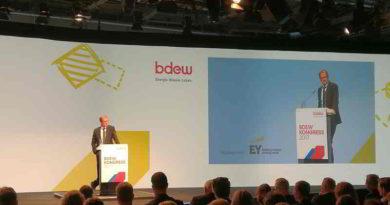 Der Energiekongress 2017 des BDEW wird beschrieben.