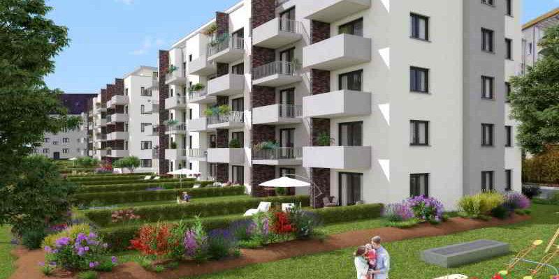 Entstehen neuer Wohnungen rund um den Ruhlsdorfer Platz in Teltow