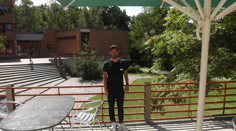 Mario Krogulec Herbergsvater in der Jugendherberge Wannsee