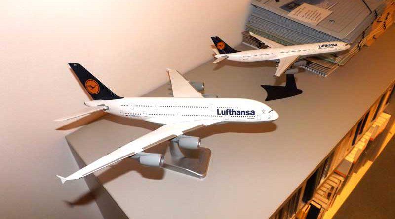 Lufthansa Flugzeuge Tauschbörse