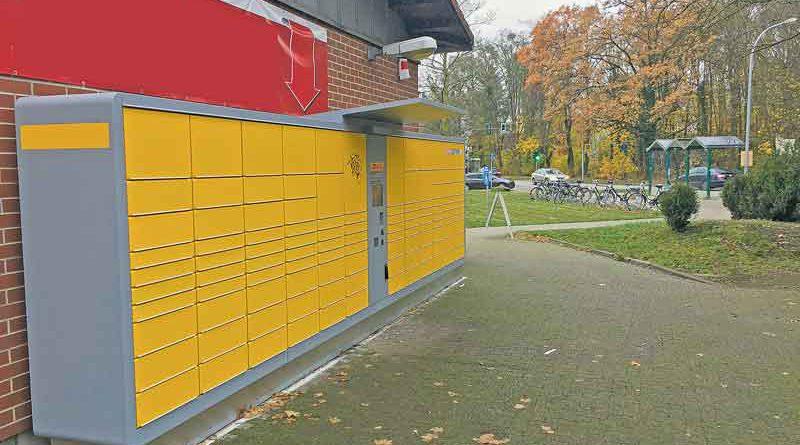 Paketboten verpasst: Stahnsdorfer müssen sich künftig nicht mehr nach Öffnungszeiten richten. In der Annastraße 1 gibt es nun eine DHL-Packstation.