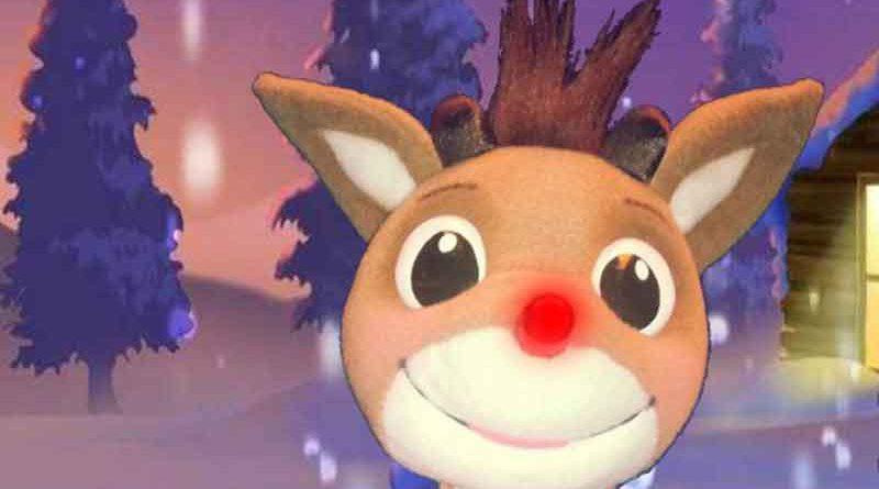 """m 12. Dezember werden Doris und Michel Brahim kleine Marionettenliebhaber ab zwei Jahren mit der beliebten Weihnachtsgeschichte """"Rudolph mit der roten Nase"""" im Bürgersaal des Rathauses Kleinmachnow unterhalten."""