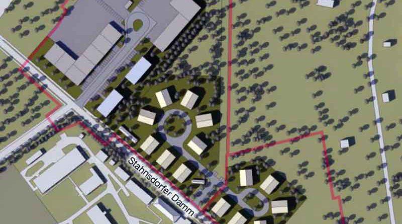 """Interessierte Kleinmachnower sind am 16. Januar um 18:00 Uhr in den Sitzungssaal im 3. OG des Rathauses eingeladen. Dort können sie sich im Rahmen eines Erörterungstermins genauer über das Projekt """"nördlich Stahnsdorfer Damm"""" informieren"""