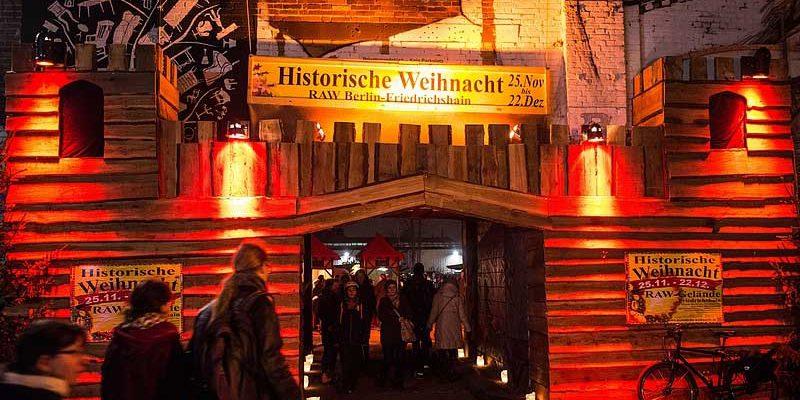 Historische Weihnacht Friedrichshain @ RAW Gelände