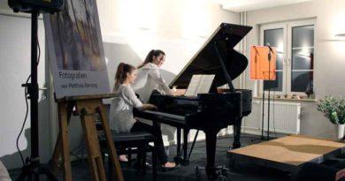 Konzert beim Neujahrsempfang der Kreismusikschule Potsdam-Mittelmark in Kleinmachnow