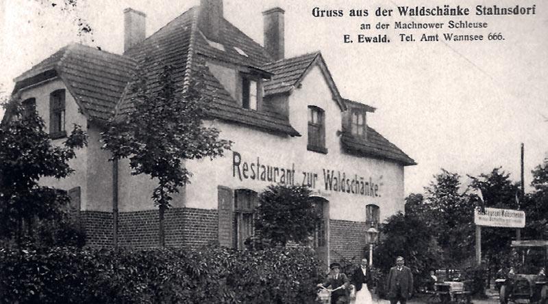 Waldschänke Stahnsdorf: Eine fast unendliche Geschichte – Stadt ...