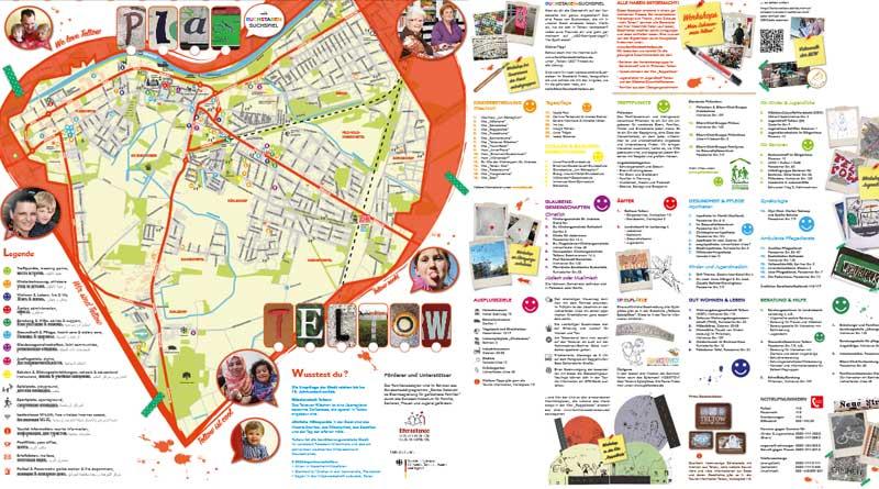 Familienstadtplan Teltow