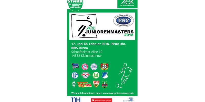 AOK-Juniorenmasters Fußball-Turnier @ BBIS Sporthalle