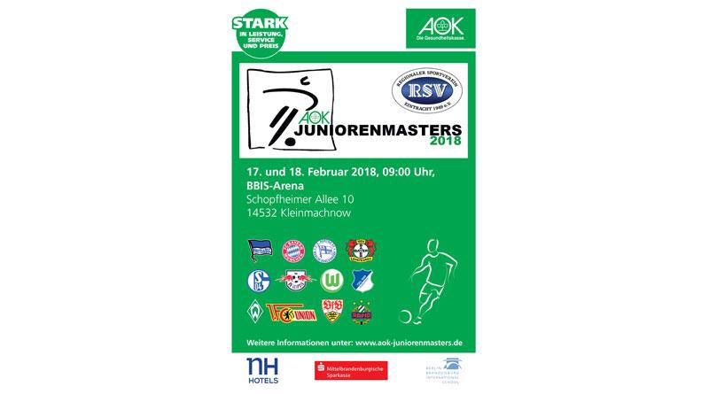 AOK Juniorenmasters 2018