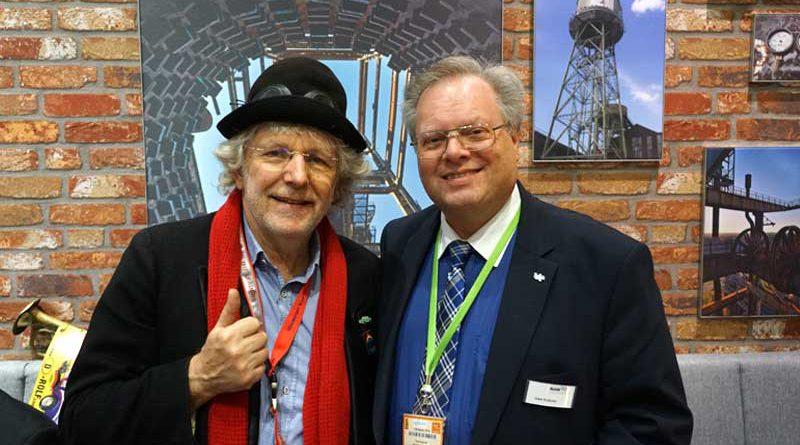 Trabbi-Rolf (li.) und Uwe Kutzner