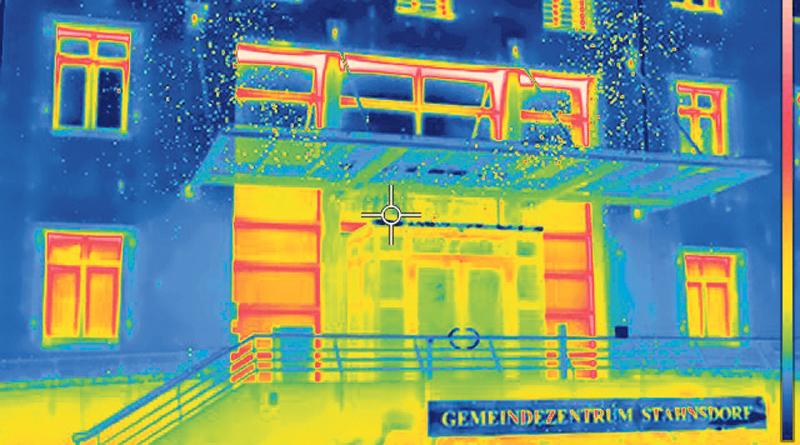 Rundgang mit der Wärmebildkamera durch Stahnsdorf