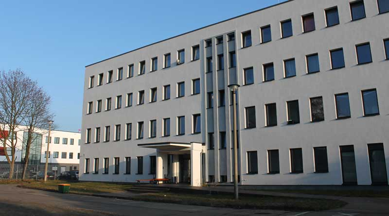 Übergangswohnheim Potsdamer Straße in Teltow