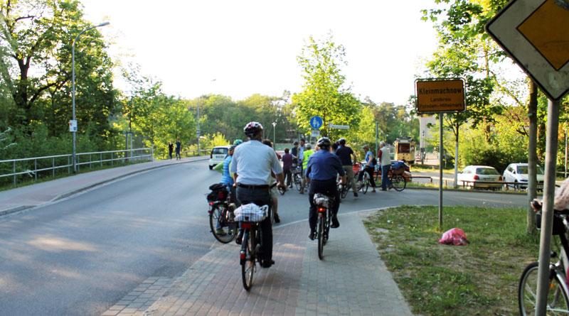 Am 5. Mai startet das Teltower Raderlebnis an der Kleinmachnower Schleuse mit einer Tour durch Potsdams Gärten & Freundschaftsinsel