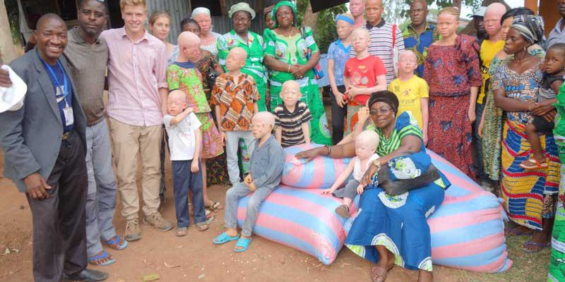 Gemeinschaft Menschen mit Albinismus Atakpamé
