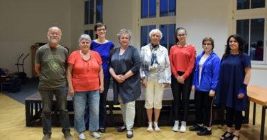 """Acht Laiendarsteller zwischen 16 und 76 Jahren berichten unter dem Titel """"Feierabend - Eine Geschichte der Arbeit in Ludwigsfelde"""" persönlich und eindrucksvoll von ihren Berufsleben. Premiere ist am 25. Mai."""