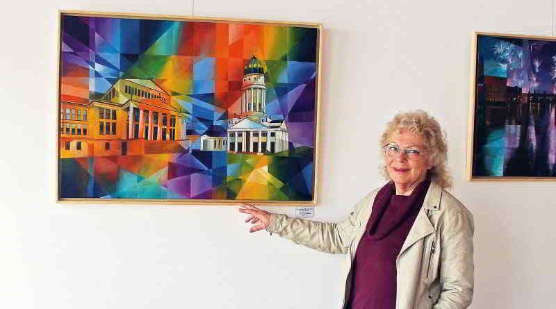 Die Teltowerin Angelika Watteroth und viele weitere Maler, Fotografen und Bildhauer aus der Region beteiligen sich am Wochenende beim Brandenburgischen Aktionstag Offene Ateliers.