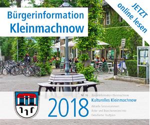 Bürgerinformation Kleinmachnow