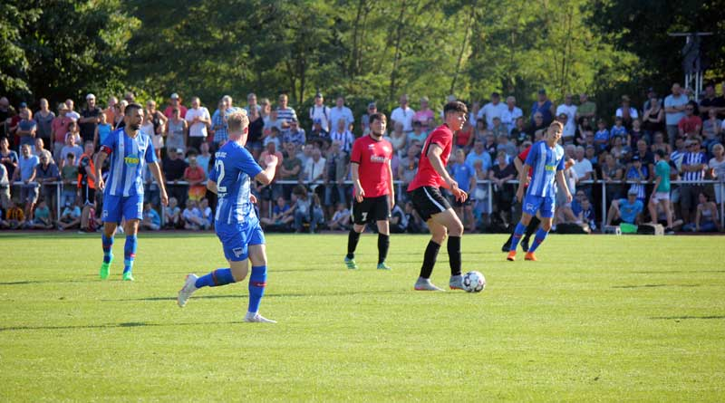 Testspiel RSV Eintracht - Hertha BSC am 4. Juli 2018