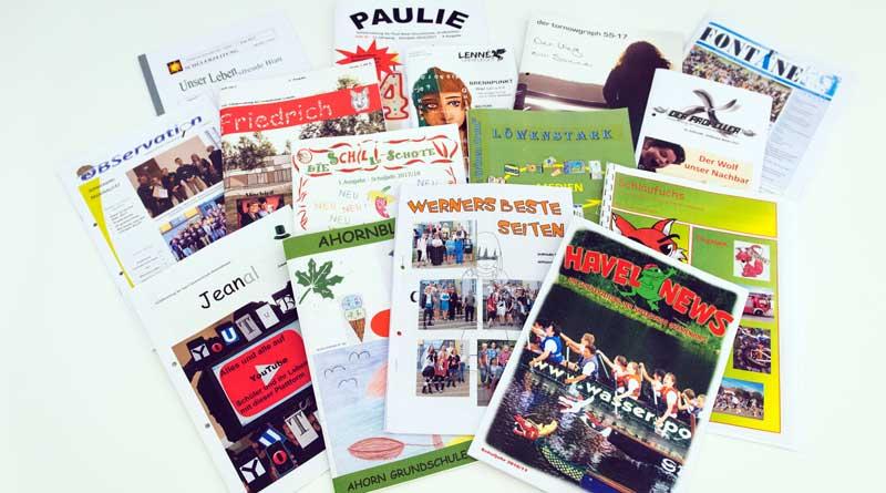 Brandenburg sucht die besten Schülerzeitungen 2019. Für den Wettbewerb können Redaktionen aller Schularten sechs Exemplare einer Print- oder Online-Ausgabe einreichen. Einsendeschluss ist der 25. Oktober.