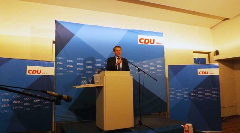 Zum 57. Tegeler Gespräch konnten die Veranstalter Schleswig-Holsteins Ministerpräsident Daniel Günther (CDU) begrüßen.