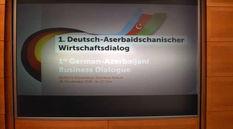 1. Deutsch-Aserbaidschanischer Wirtschaftsgipfel in Berlin ...