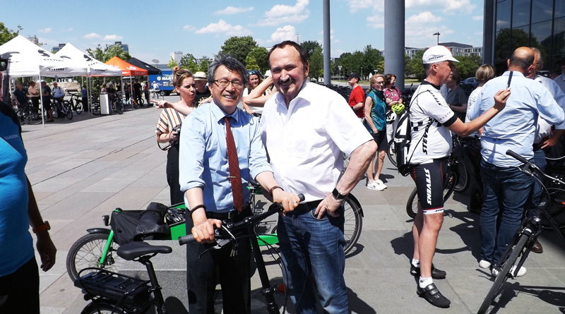 Parlamentarische Fahrradtour