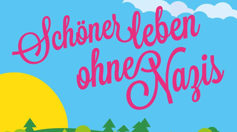 """Am 17. August ab 17:00 Uhr feiern die Neuen Kammerspiele in Kleinmachnow ihr zweites One-Night-Festival """"Schöner leben ohne Nazis"""". Dafür haben sie ein buntes Programm aus Improvisationstheater, Musik, Film und Diskussionen zusammengestellt."""