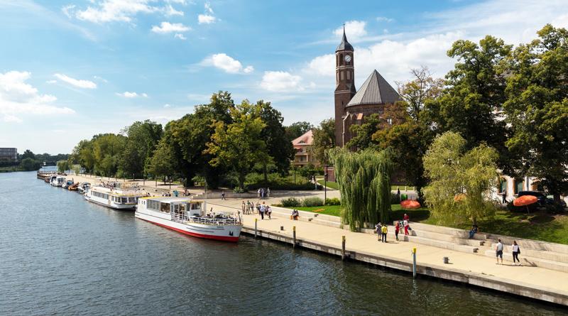 Brandenburg an der Havel wird Standort des neuen Bundesamts für Auswärtige Angelegenheiten.