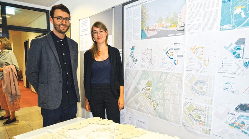 Mit Hilfe eines städtebaulichen Wettbewerbs haben die Gemeinde und die P&E Planungs- und Entwicklungsgesellschaft Kleinmachnow nun eine innovative Lösungen für das am Stahnsdorfer Damm, gegenüber dem Julius-Kühn-Institut, geplante Wohnquartier gefunden.