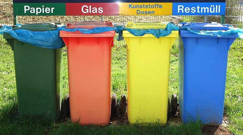 Recycling Mülltrennung