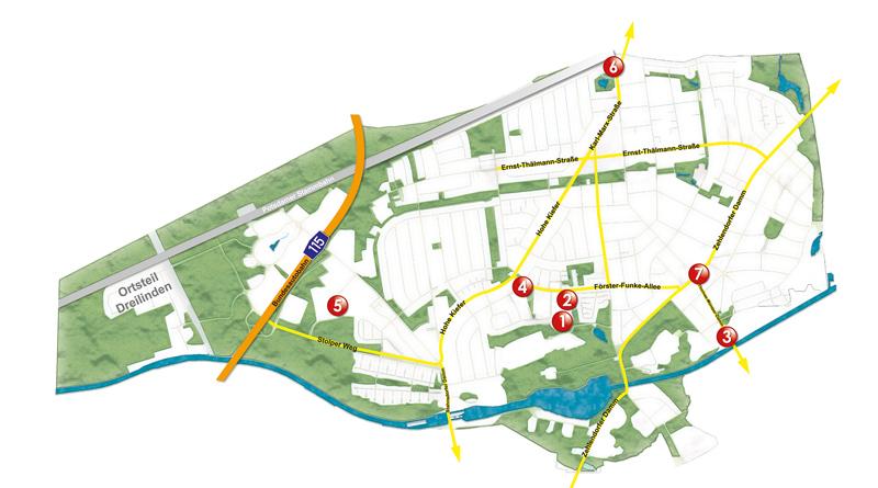 Am 25. Oktober wurden in Kleinmachnow sieben neue Ladestationen mit je zwei Ladepunkten für Elektroautos in Betrieb genommen.