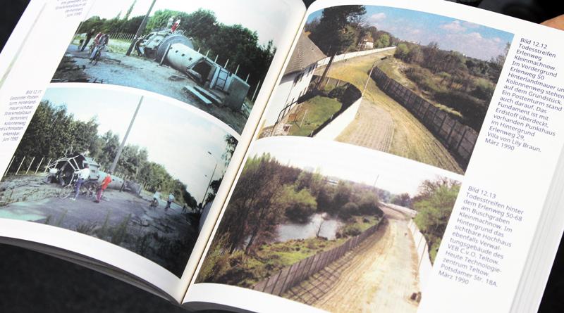 """Als Naturschutzbeauftragter hatte der Kleinmachnower Georg Heinze zu DDR-Zeiten Zutritt zu den Grenzanlagen und hat manchmal seine Kamera mitgesschmuggelt. Vor zwei Jahren ist zum 28. Jahrestag des Mauerfalls sein Buch """"Kleinmachnow eingegrenzt"""" im Buchkontor Teltow erschienen."""