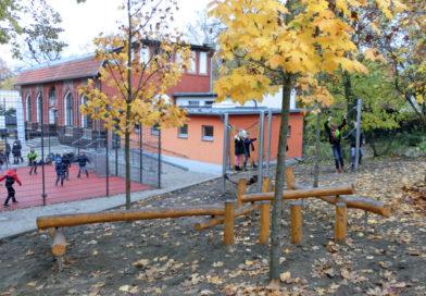 Neuer Kletterparcour für Lindenhof-Grundschule