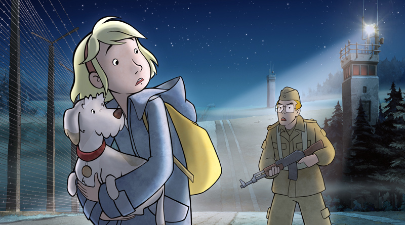 """Im Zeichentrickfilm """"Fritzi - Eine Wendewundergeschichte"""" geht es um die Flucht aus der DDR und in """"Im Niemandsland"""" um die Ereignisse in Kleinmachnow nach dem Mauerfall. Passend zum 30. Jahrestag haben die Neuen Kammerspiele in der kommenden Spielwoche zwei Filme zum Thema im Programm."""